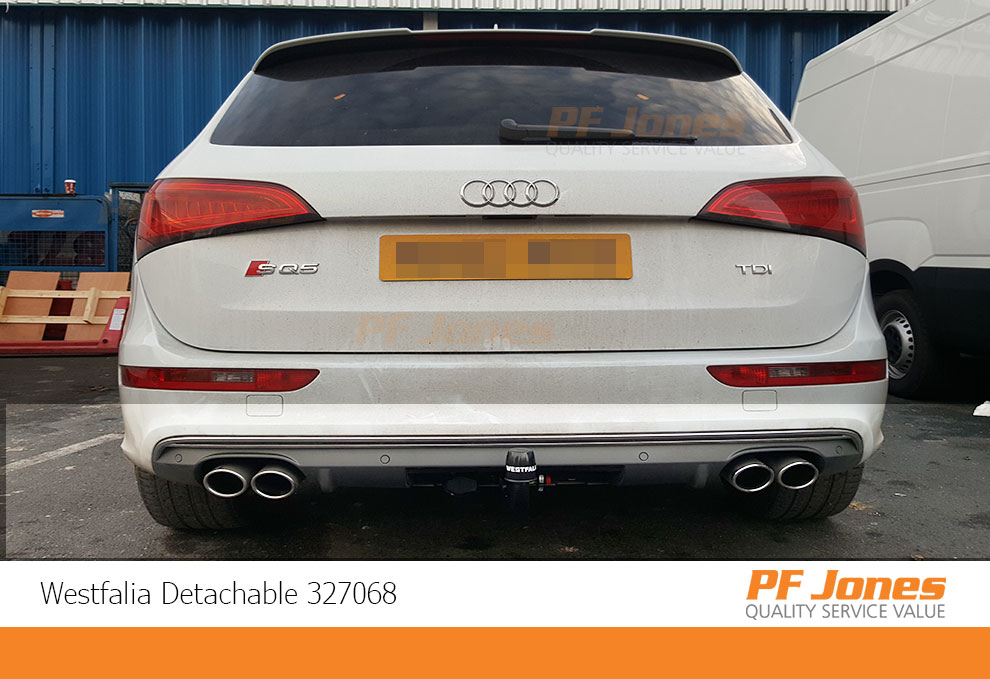 327068 Audi Q5 Westfalia Detachable Towbar