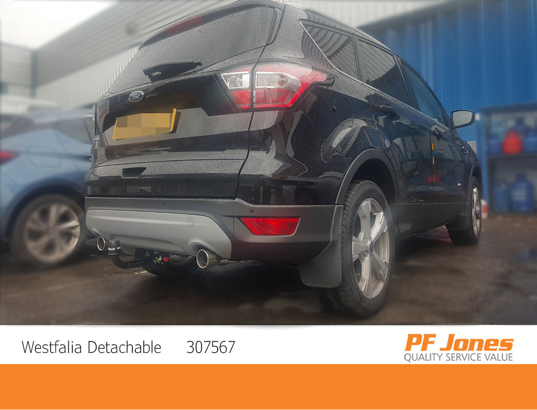 Ford Kuga Westfalia Detachable Towbar Neck Fitted