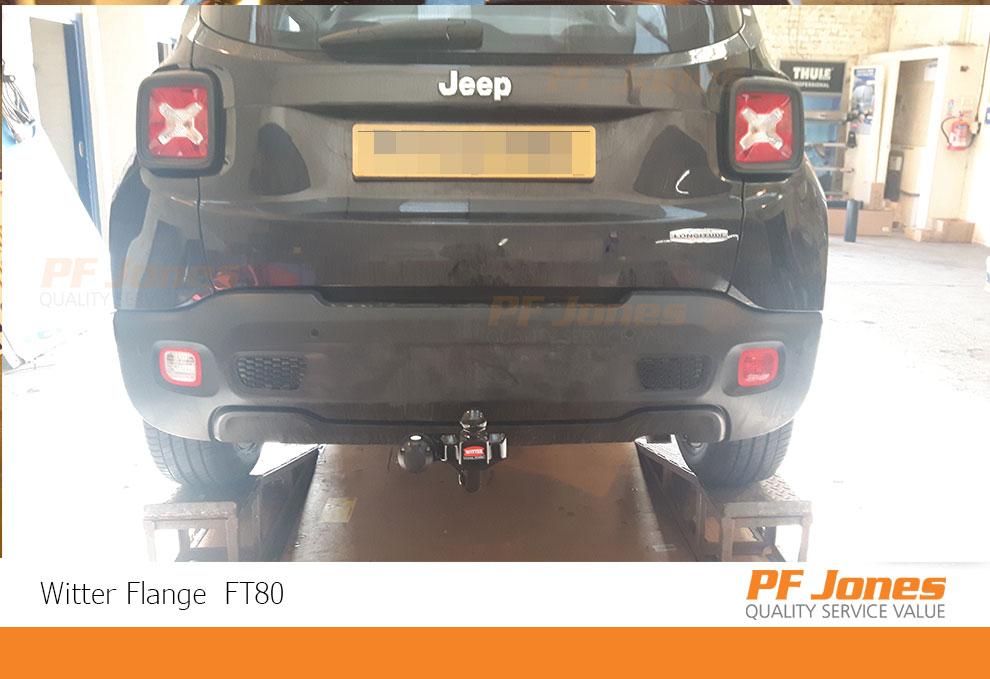 Jeep Renegade Flange Towbar