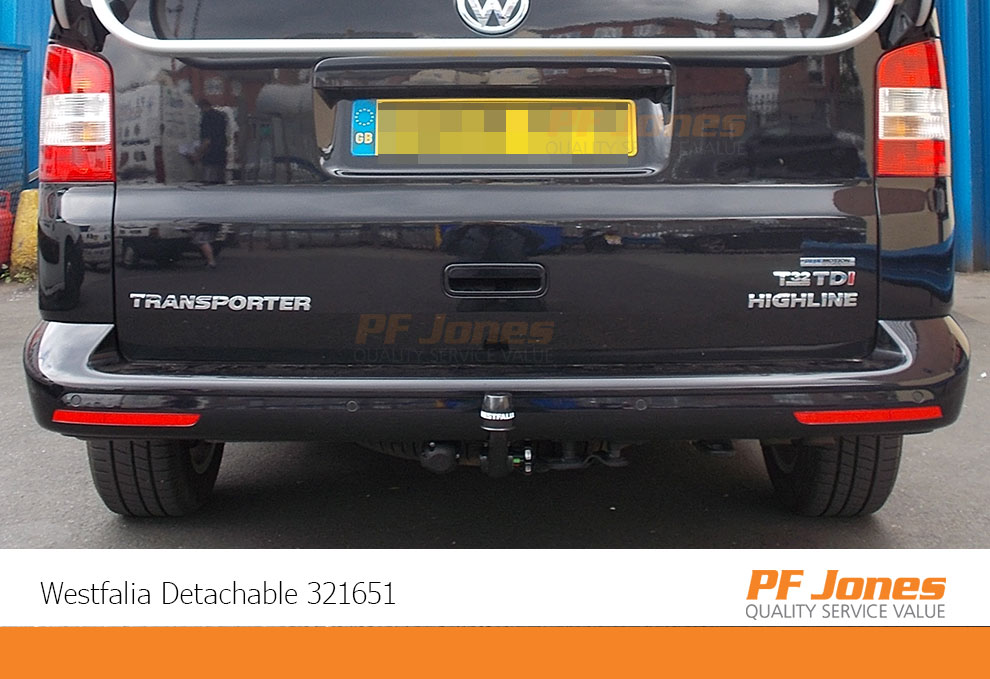 Volkswagen Transporter T5 Towbar fitted