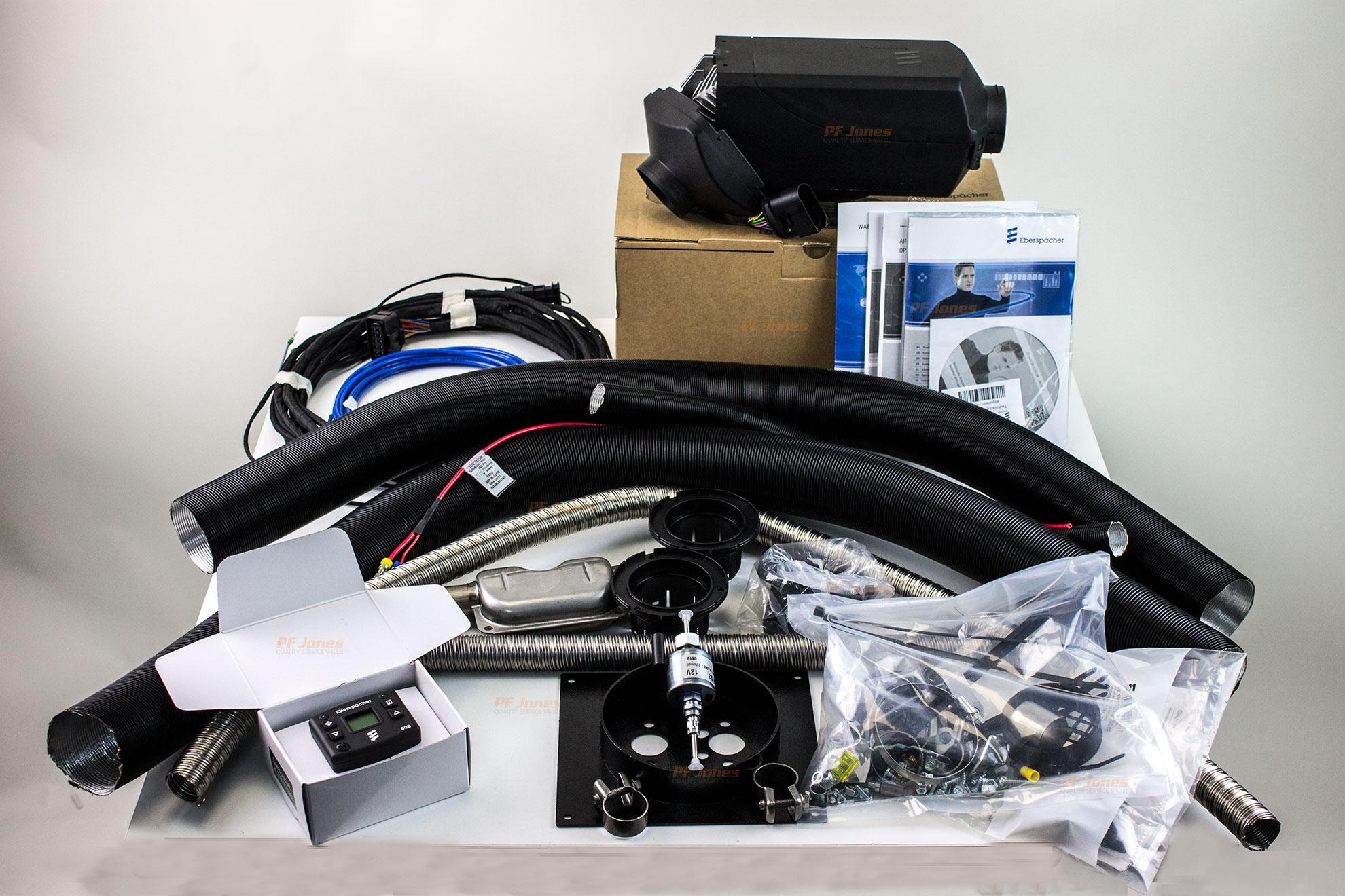 Eberspacher Airtronic D2L Motorhome kit with 802 Modulator