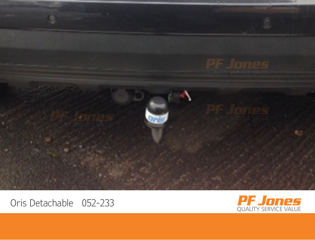 Kia Sportage Detachable Towbar Fitting Zoomed In