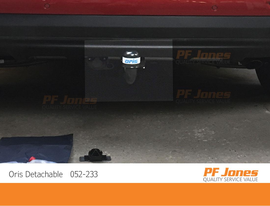 Kia Sportage Detachable Oris Towbar Zoomed