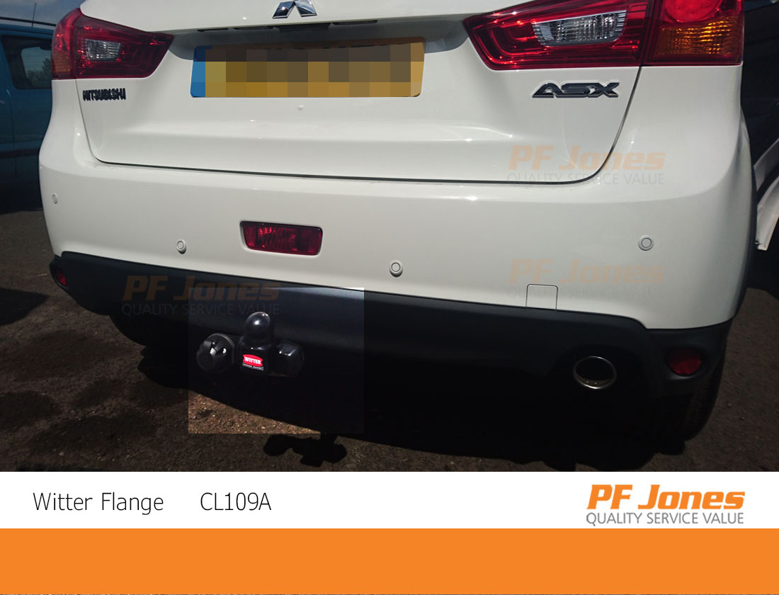 Witter Towbar for Mitsubishi ASX 2010 On Flange Tow Bar