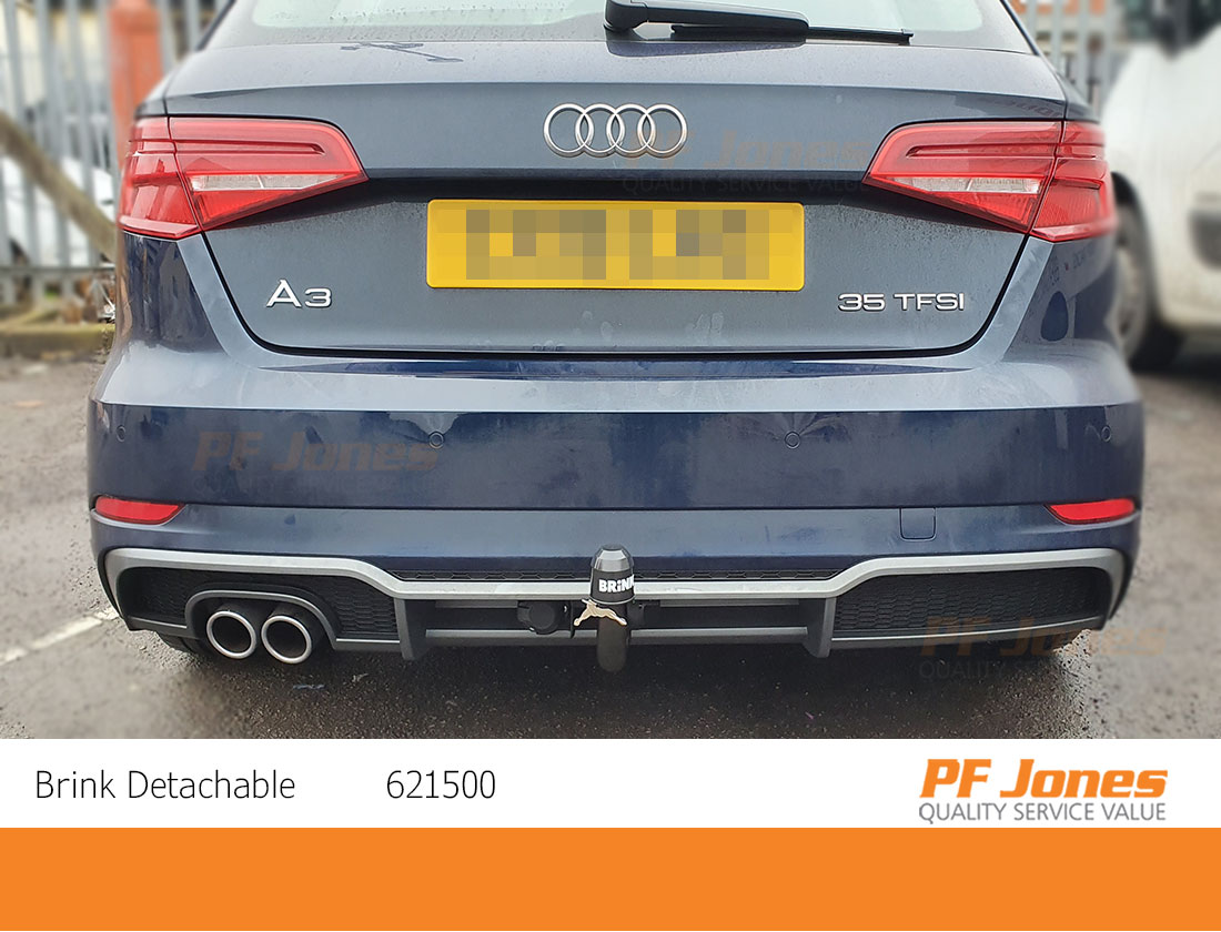 Brink Towbar for Audi A3 Sportback 5 Door 2012 Onwards Swan Neck Tow Bar