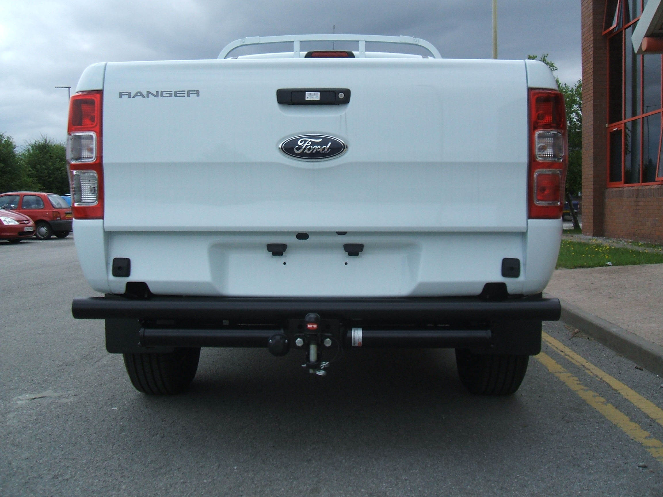 F158 ford ranger pickup 2012 2015 witter flange tow bar witter towbar wiring diagram at crackthecode.co