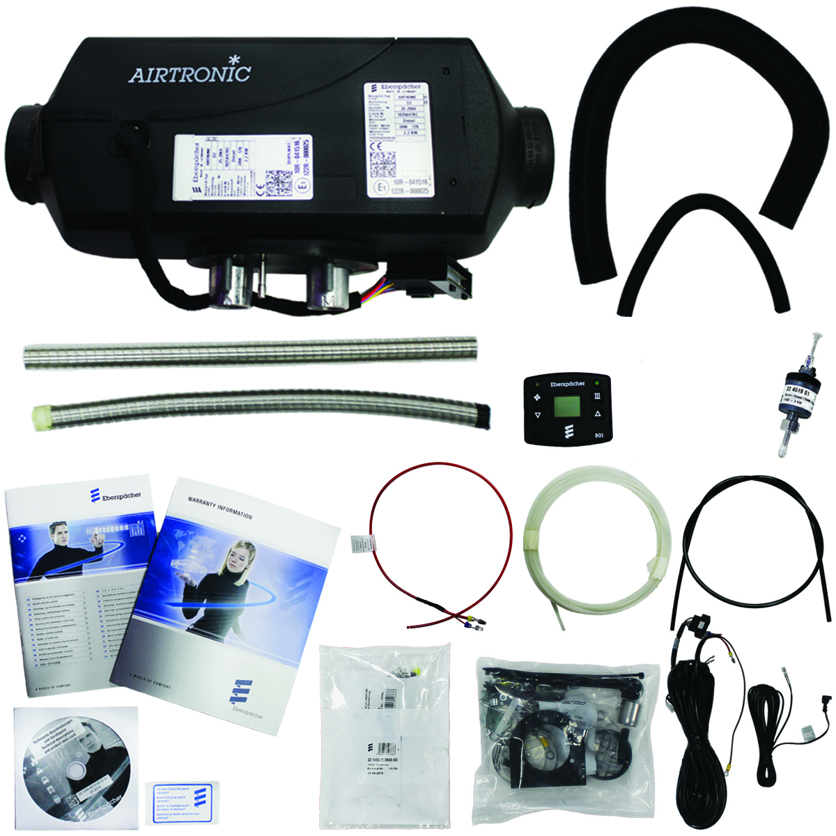 Eberspacher d2 heater kit