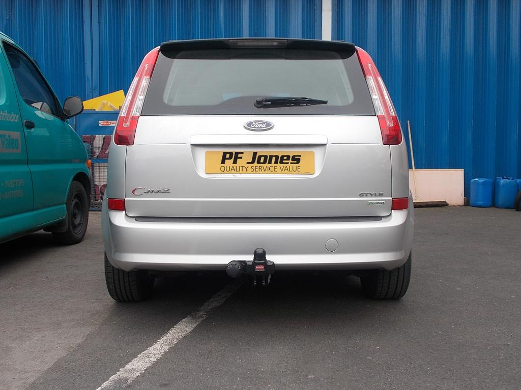 f127b ford c max 2003 2007 witter fixed flange towbar welded neck ford c max towbar wiring diagram at soozxer.org