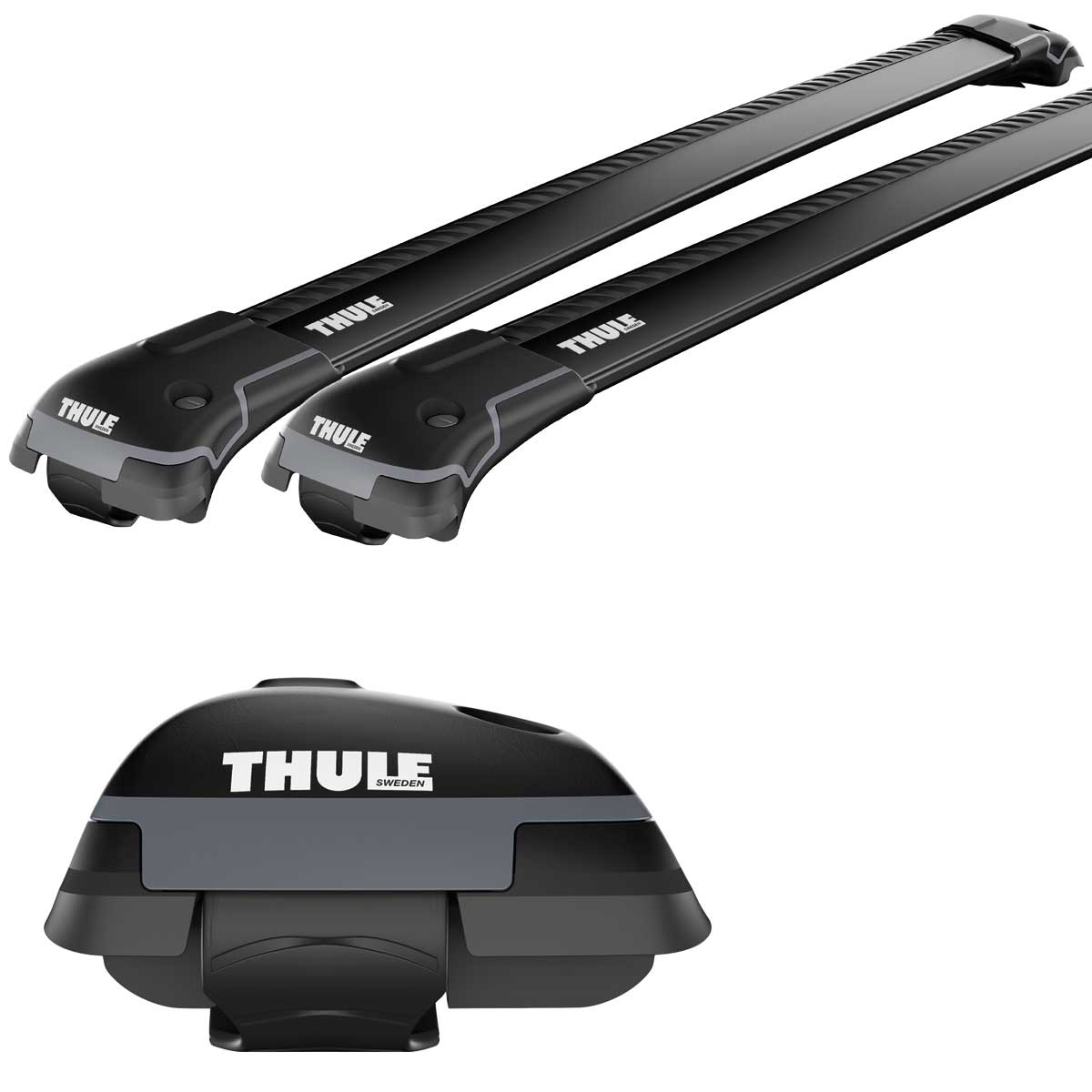 bmw thule wingbar edge black 958420. Black Bedroom Furniture Sets. Home Design Ideas