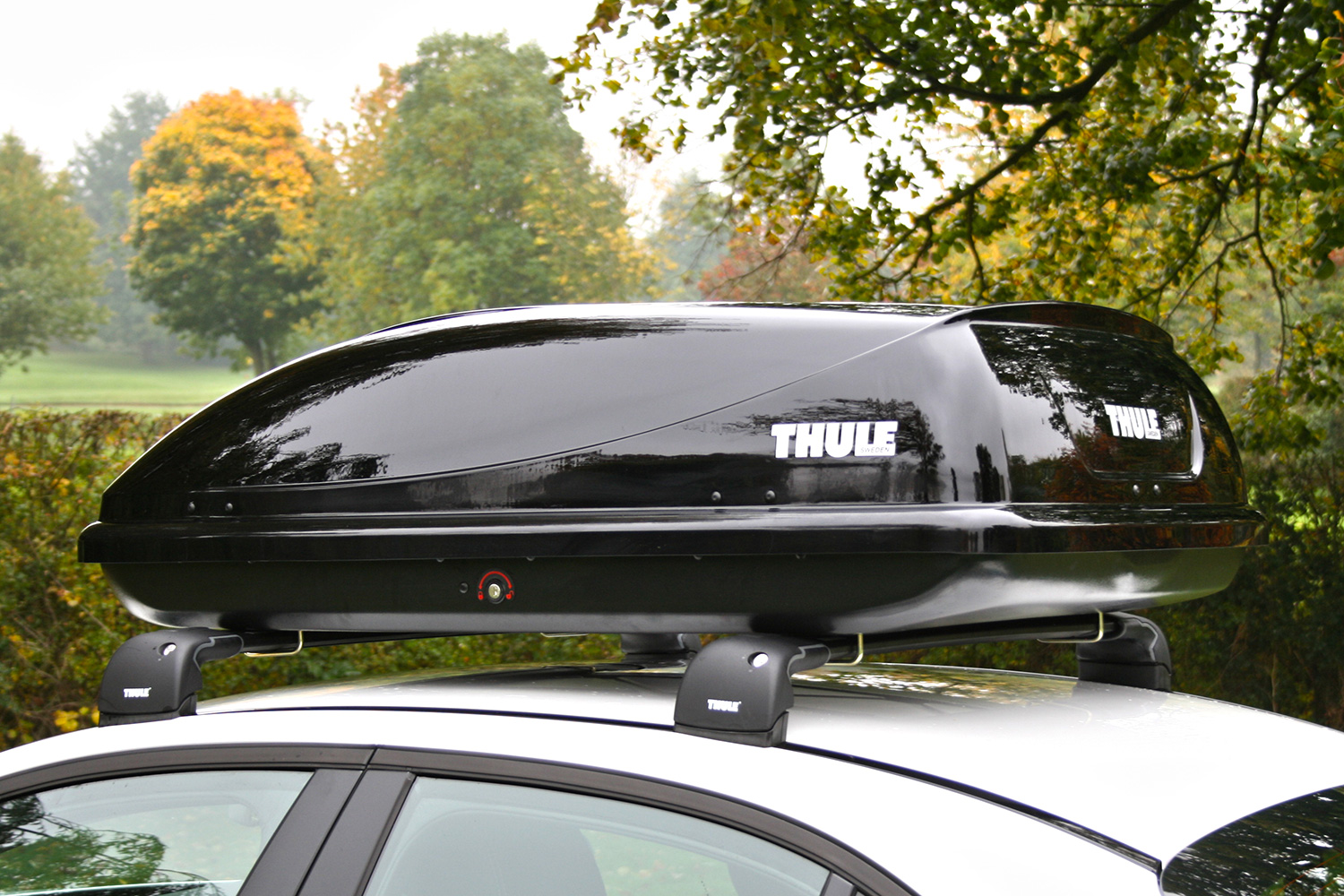 thule ocean 100 roof box. Black Bedroom Furniture Sets. Home Design Ideas