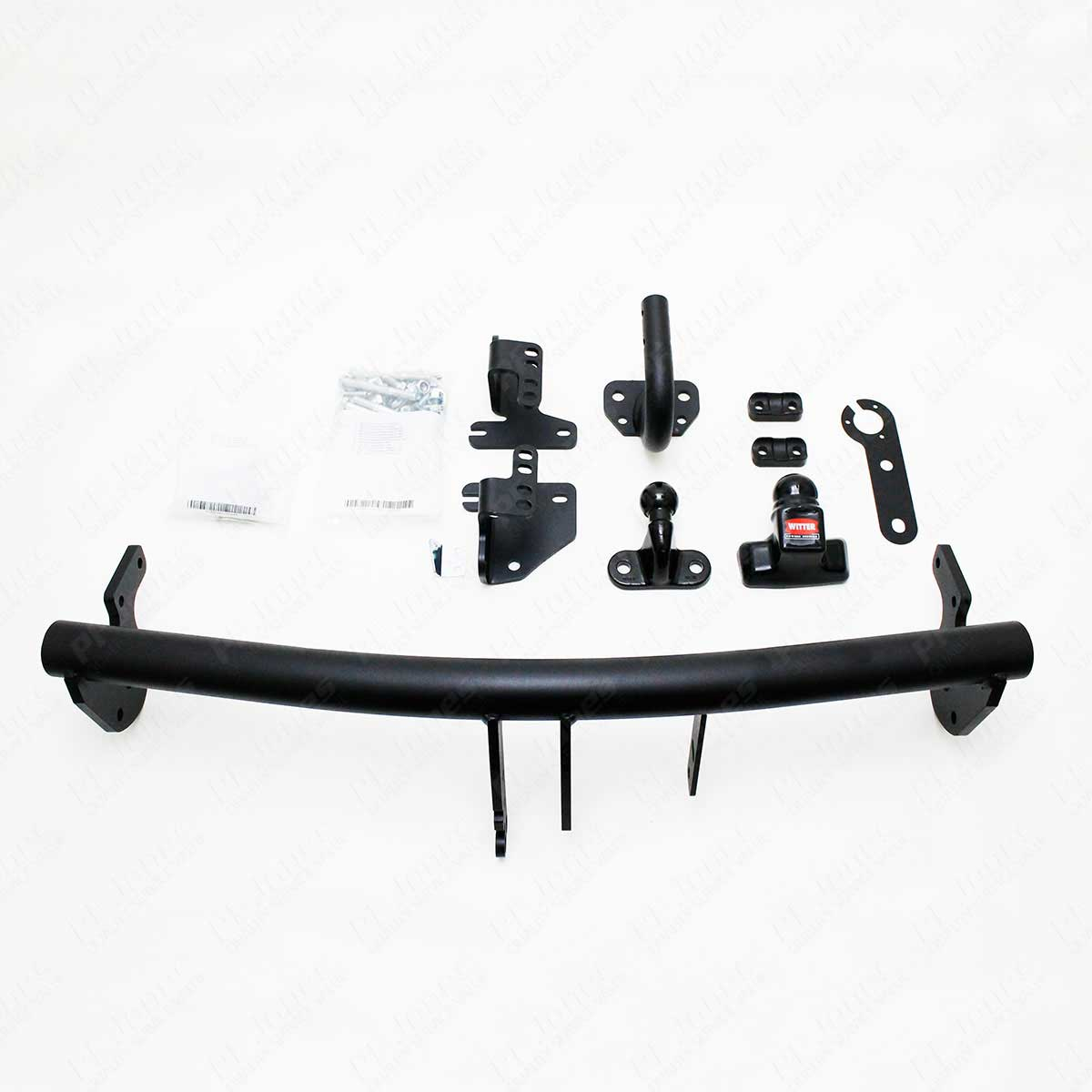 Mitsubishi outlander sep onwards witter flange tow bar