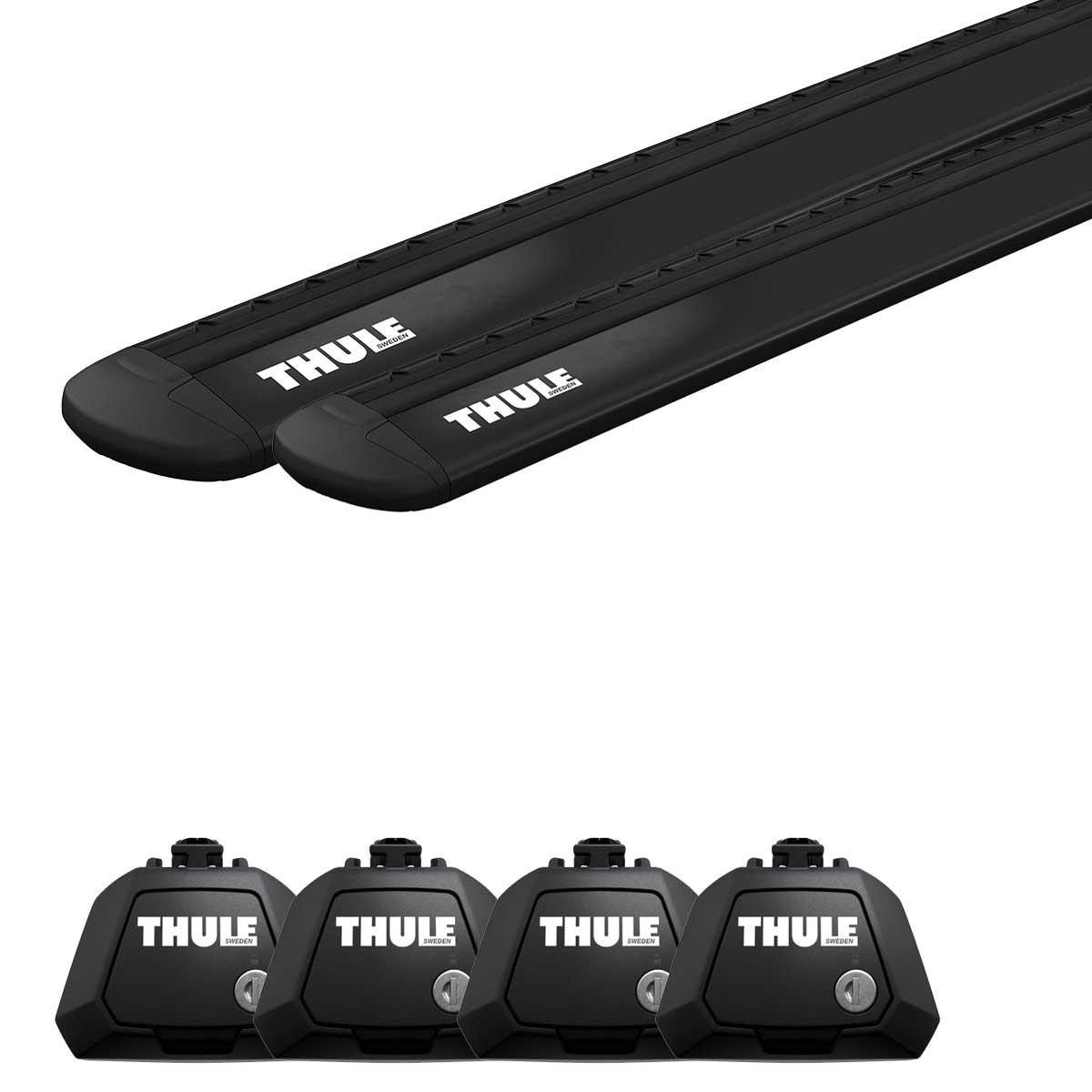 Seat Thule Wingbar Evo Black 118 Evo Raised Railing 7104