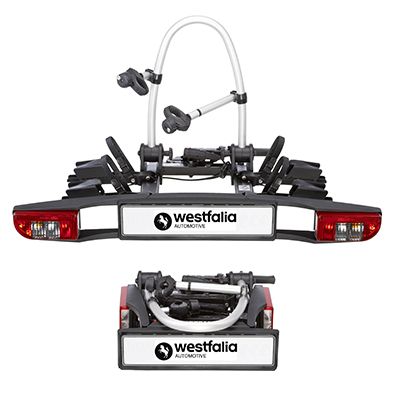 Westfalia BC 60 Towball Mounted Tilting 2 Bicycle Carrier