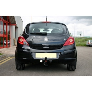 Hatchback 2006-2014 Towbar for Vauxhall Corsa Flange Tow Bar D