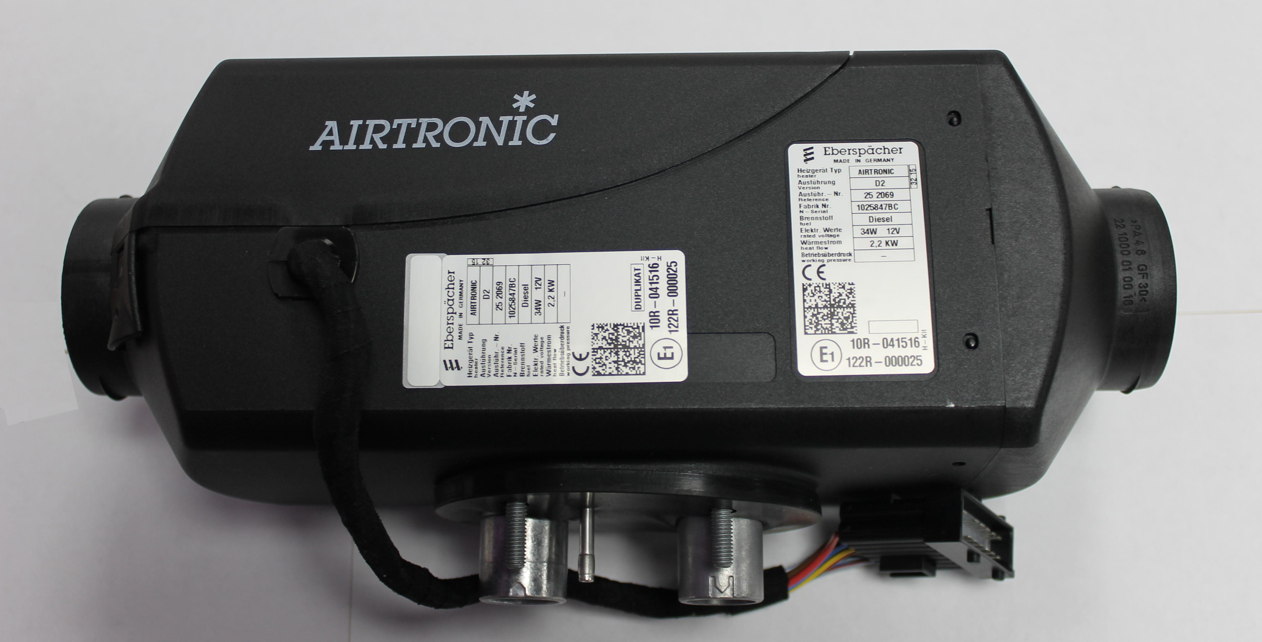 eberspacher airtronic d2 24v