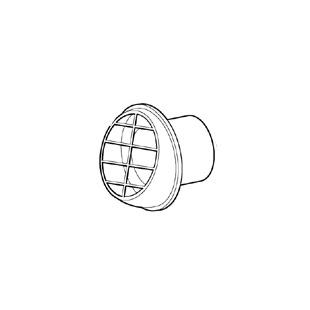 Eberspacher Outlet Deflector 60mm