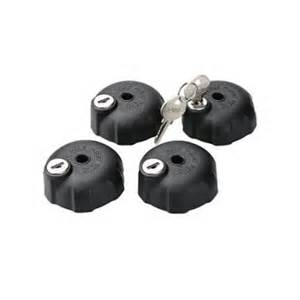 Witter Cycle Carrier Locking Knob Set of 4