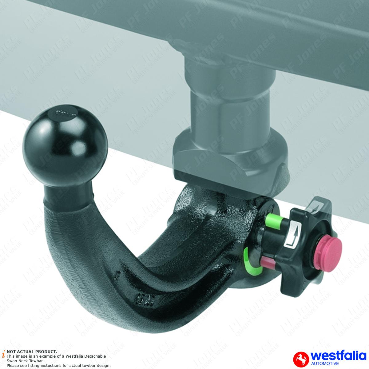 Westfalia detachable towbar