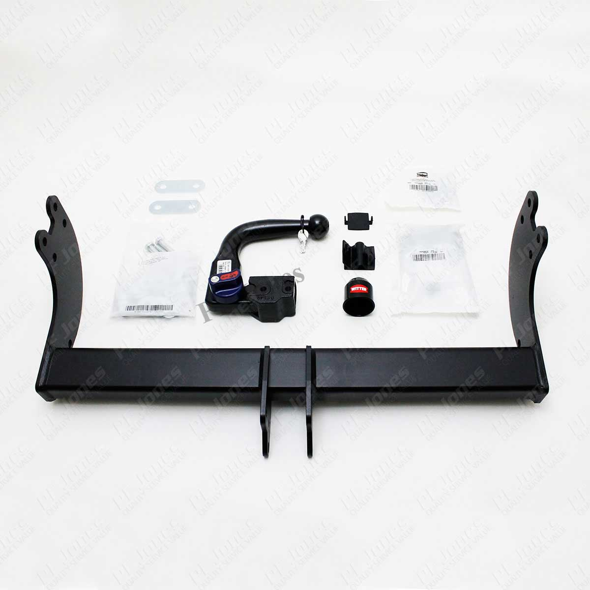 Ford Transit Witter Vertical Detachable tow bar