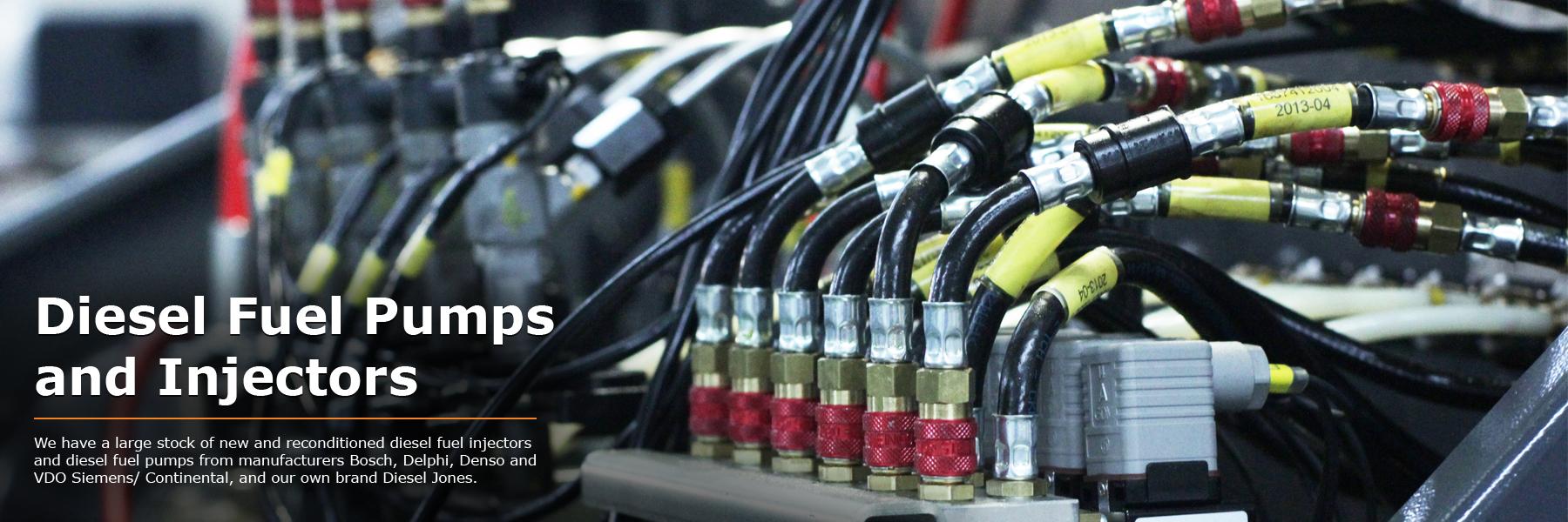 Diesel Jones Diesel Fuel Pumps and Diesel Fuel Injectors