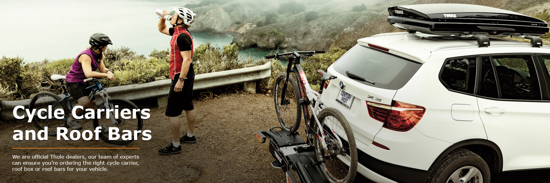Thule Cycle Carriers and Thule Roof Bars from PF Jones