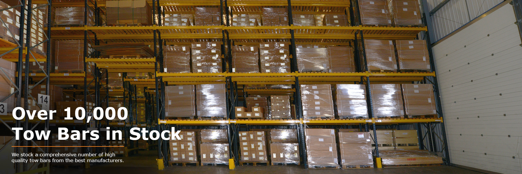 We stock over 10,000 towbars at PF Jones