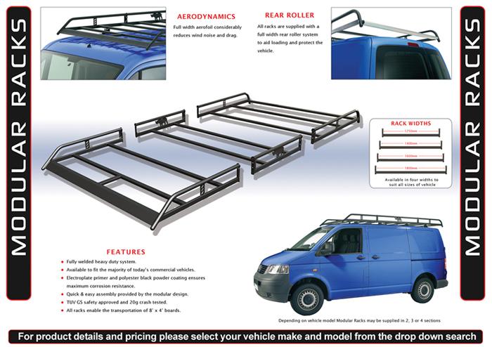 Van Roof Racks >> Rhino Van Roof Racks