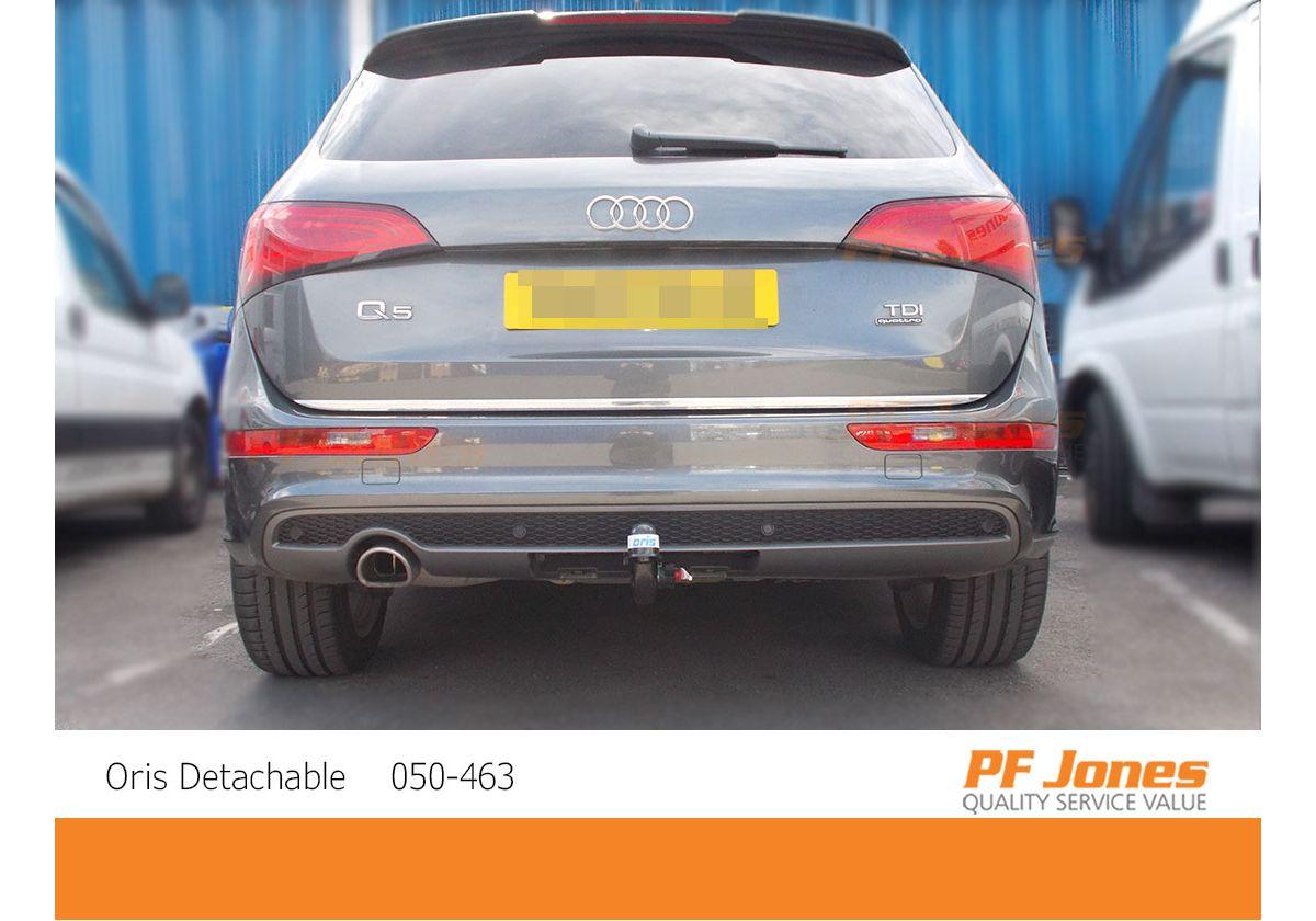 Audi Q5 Suv 2008 2017 Oris Detachable Towbar