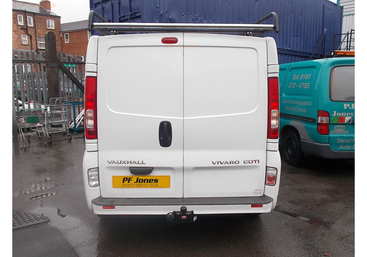 Vauxhall Vivaro Towbar 01 to 14 Tow Bar 3057BUN72