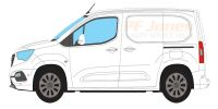 Vauxhall Combo 2018 Onwards Rhino Roof Racks