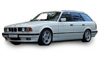 BMW 5 Series Tourer/Estate E34 1992-1997 Towbars