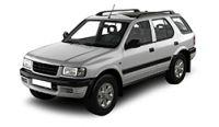 Vauxhall Frontera Towbars 1998 - 2006