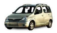 Toyota Yaris Verso Towbars 2000-2006
