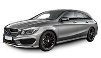 Mercedes CLA Shooting Brake Towbars