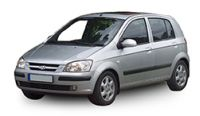 Hyundai Getz 2002-2005 Towbars