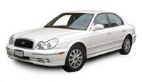 Hyundai Sonata 2002-2005 Towbars