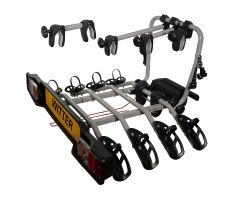 Witter ZX304 towbar mounted 4 bike cycle carrier