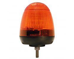 LED Beacon - Amber - 12/24v - 1 Bolt
