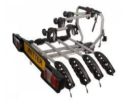 Witter towbar mounted 4 bike cycle carrier ZX204