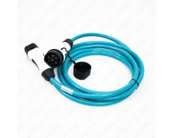 5m (Straight) 16 Amp Type 2 to Type 1 EV Charging Cable