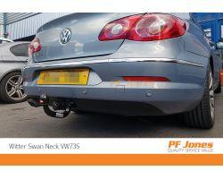 Volkswagen Passat Coupe 2005 2012 Westfalia Detachable Towbar