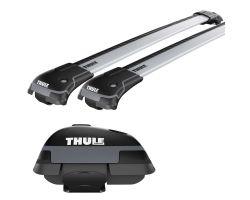 thule wingbar evo 118  BMW - Thule WingBar Evo Black 118 + Evo Raised Railing 7104