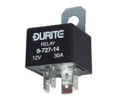 12V Mini Make/Break Relay - with Diode - 30A 0-727-14