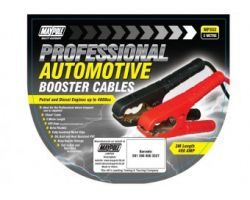 BOOSTER CABLE, PEAK OUTPUT 400A, 16MM X 3M NYLON BAG