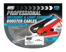 BOOSTER CABLE, PEAK OUTPUT 500A, 20MM X 4M NYLON BAG