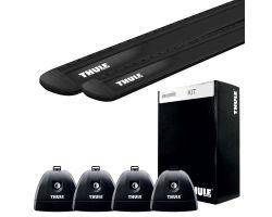 Fiat - Thule WingBar Evo Black 127 + Rapid System 751 + Kit 3070
