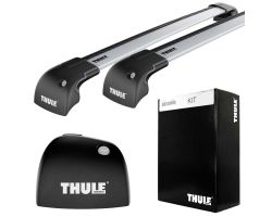 Land Rover - Thule WingBar Edge Silver 9593 + Kit 3027