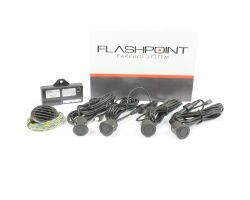 Laserline 4 Pot Rear Parking Sensors - FPS412