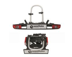 Westfalia Bikelander with LED lights Towball Mounted Tilting 2 Bicycle Carrier