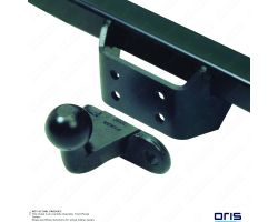 Volkswagen T4 Transporter Chassis-cab/Pick-up 1990-2003 Oris Fixed Flange Tow bar